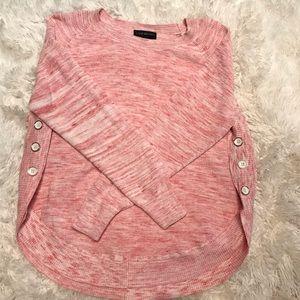 LANE BRYANT ** Heather Pink Sweater